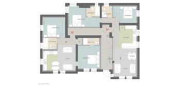 Four Gables, Apartments