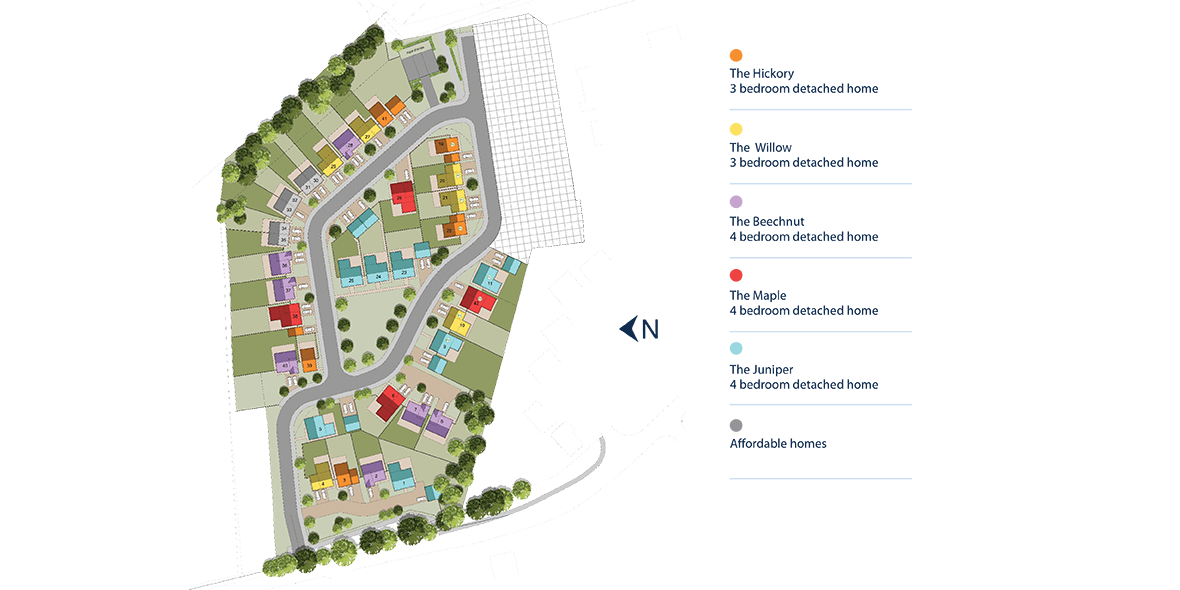 Astral Park, Thorpe Thewles Site Layout