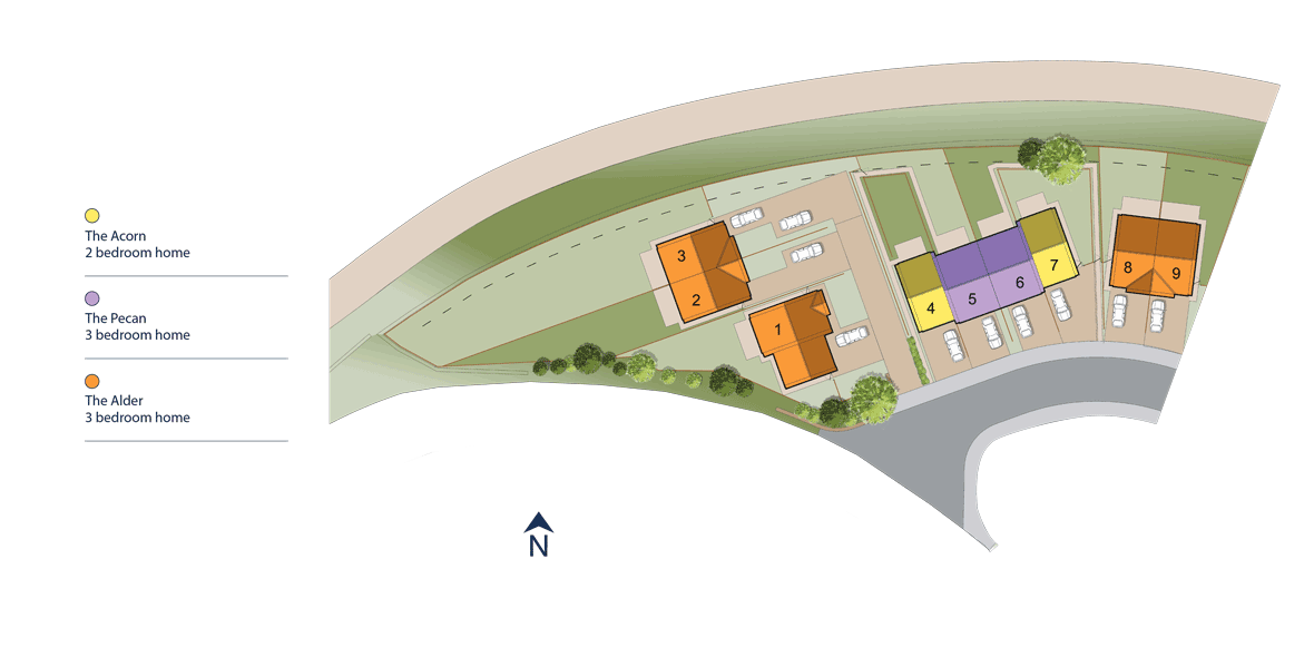 The Haymarket, Skipton Site Layout