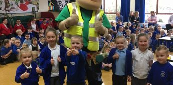 Learning to be safe on site!