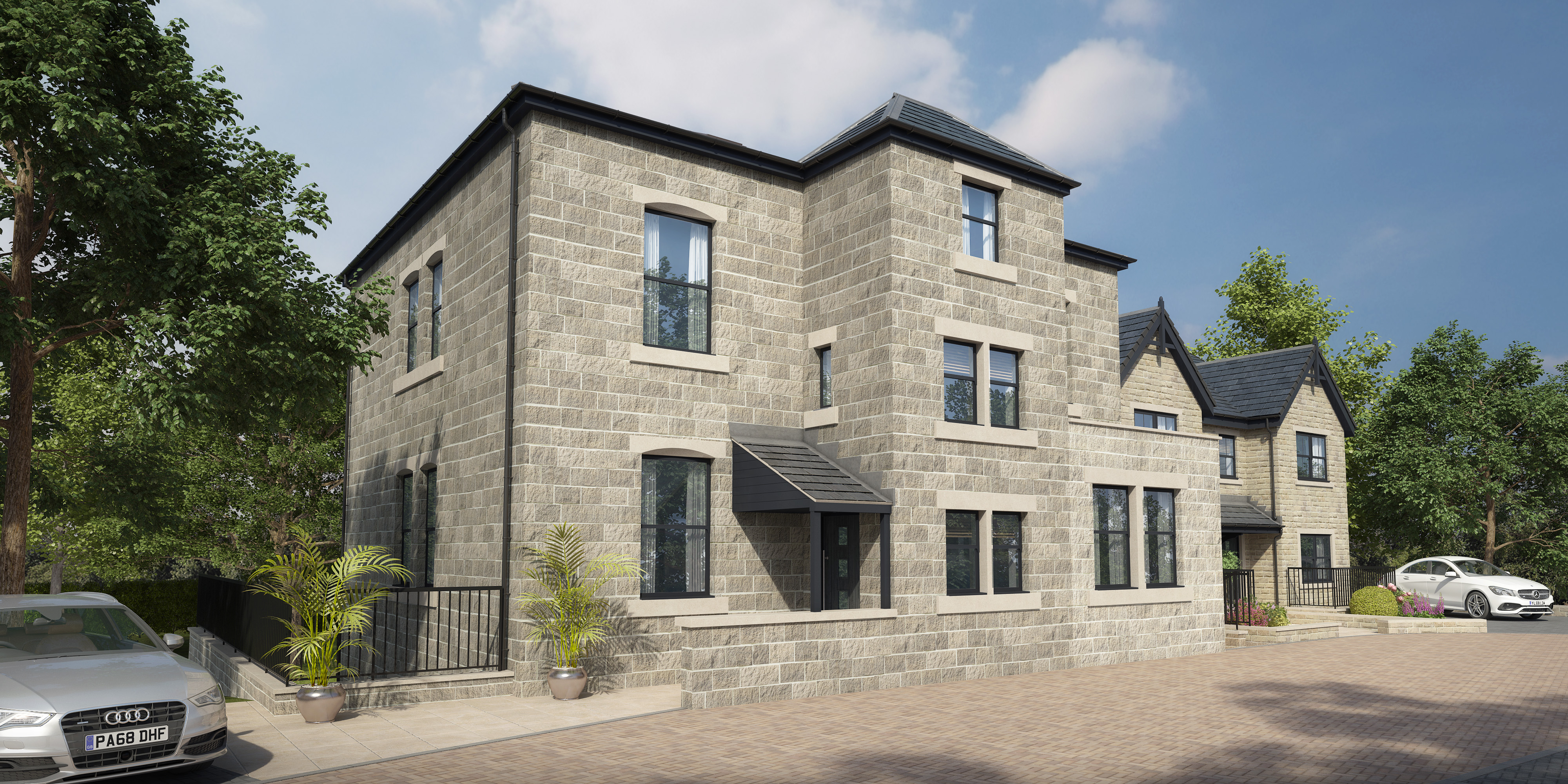 New Build Homes For Sale In Horsforth, Leeds; Aubretia View